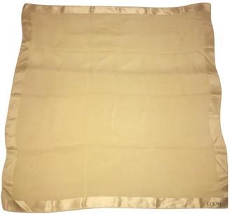 Loewe Gold Silk Scarves