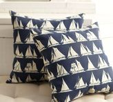 Ship Ahoy Outdoor Pillow