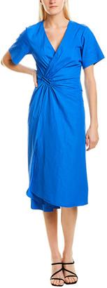A.L.C. Edie Linen-Blend A-Line Dress