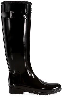 Hunter Refined Tall Gloss Rain Boots