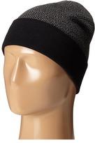 Cole Haan Fine Gauge Pattern Jacquard Knit Cuff Hat