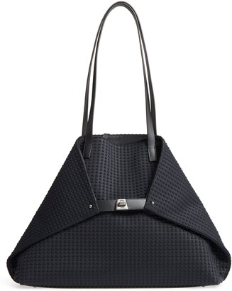Akris Medium AI Techno Convertible Satchel