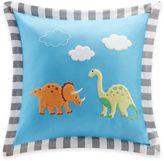 Mi Zone Kids Dinosaur Dreams Applique Throw Pillow
