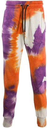 Mauna Kea Tie-Dye Cotton Track Trousers