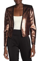 Ted Baker Cropped Sequin Blazer