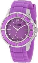 Versus By Versace Women's 3C61800000 Tokyo Dial Rubber Watch