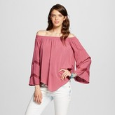 Xhilaration Women's Off the Shoulder Long Sleeve Juniors')