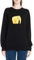 Loewe Women's Jacquard Elephant Sweater