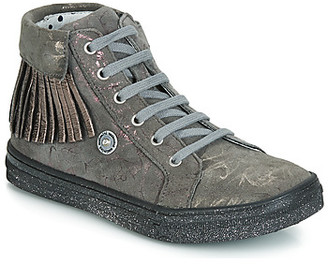 Catimini LOULOU girls's Shoes (High-top Trainers) in Grey