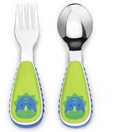 Bed Bath & Beyond SKIP*HOP® Zootensils Little Kid Fork & Spoon in Dino
