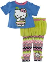 Hello Kitty Skeggings Set (Baby) - Chetwood Blue-24 Months
