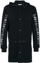 McQ by Alexander McQueen hooded coat - men - Cotton - S