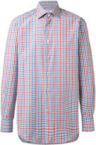 Kiton fine check shirt - men - Cotton - 38