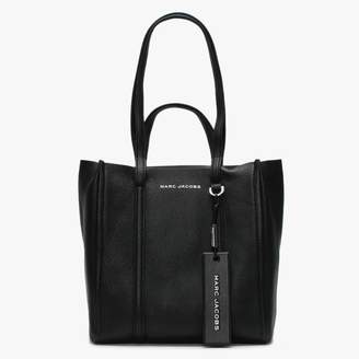 Marc Jacobs The Tag 27 Black Pebbled Leather Tote Bag