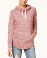 Ultra Flirt Juniors' Funnel-Neck Sweatshirt