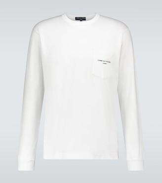 Comme des Garçons Homme Cotton jersey long-sleeved T-shirt
