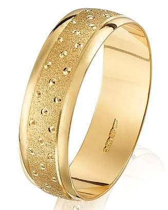 Gents Marisota Champagne Bubbles Wedding Ring-6mm