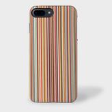 Paul Smith Signature Stripe Leather iPhone 7 Plus Case