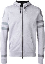Hydrogen back print zip hoodie - men - Cotton - S