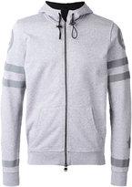 Hydrogen back print zip hoodie - men - Cotton - S