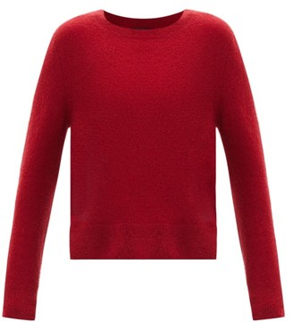 A.P.C. Amalia Wool-blend Sweater - Red