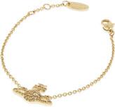 Vivienne Westwood Grace Bas Relief pavé orb bracelet