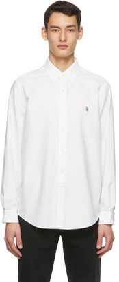 Polo Ralph Lauren White The Iconic Oxford Shirt