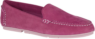 Sperry Top Sider Women's Loafers COLOR - Berry Color Block Bay View Leather Loafer - Women