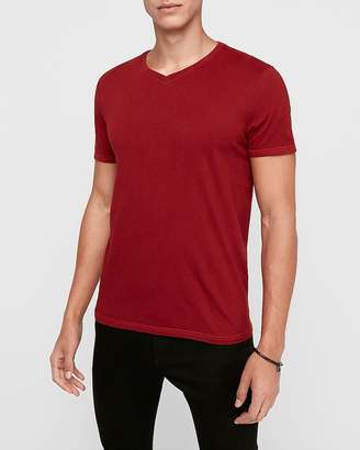Express Short Sleeve V-Neck T-Shirt