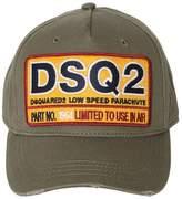 DSQUARED2 Cotton Canvas Baseball Hat