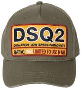 DSQUARED2 Dsq2 Patch Canvas Baseball Hat