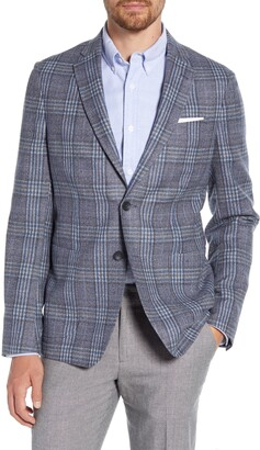 1901 Plaid Wool Blend Sport Coat