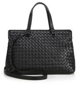 Bottega Veneta Intrecciato Leather Work Tote