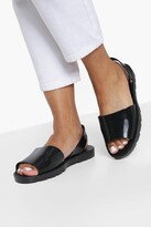 Thumbnail for your product : boohoo Jelly 2 Part Sandals