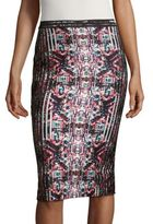 Parker Printed Pencil Skirt