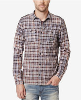Buffalo David Bitton Men's Sitroll Plaid Graphic-Print Logo T-Shirt