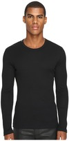 Dolce & Gabbana Ribbed Cotton R-Neck Long Sleeves