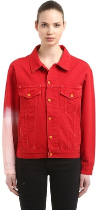 La Detresse The Sleeve Red Japanese Denim Jacket