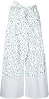 G.V.G.V. Liberty floral print palazzo trousers - women - Cotton/Polyester/Polyurethane - 34