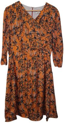 Carven Orange Viscose Dresses