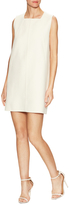 Derek Lam Wool Seamed Shift Dress
