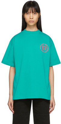 Honey Fucking Dijon Green Small Logo T-Shirt