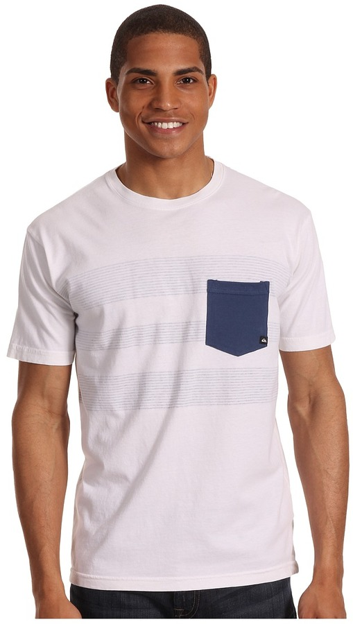 Quiksilver Ground Out Tee (Off White) - Apparel