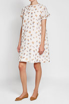 Emilia Wickstead Printed Dress with Silk