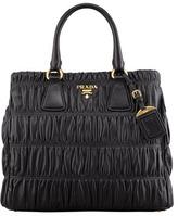 Prada Napa Gaufre Large Zip-Top Tote Bag