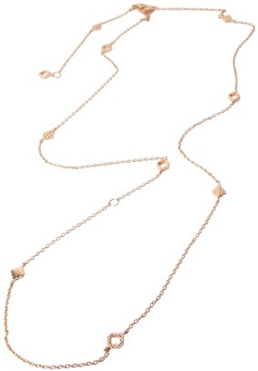 Jewel Tree London Baori All Season Necklace Rose Gold
