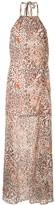 SUBOO Uma leopard print dress