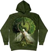 The Mountain Green Yin Yang Tree Hoodie - Unisex
