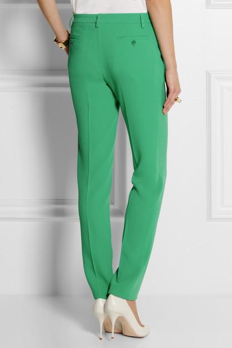 Etro Crepe straight-leg pants