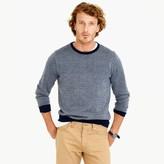 J.Crew Merino wool crewneck sweater in bird's-eye stitch